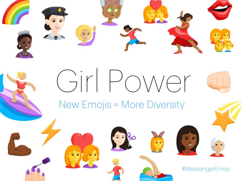 GIFs_stickers_Emojis_A visual of Facebook's Girl emoji power initiative