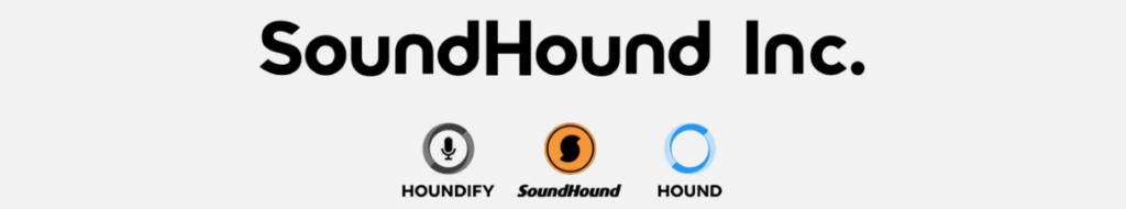 SoundHound's logo.