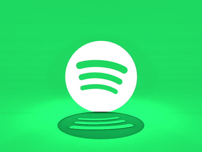A screenshot of Bjorn Lindberg's Spotify-branded GIF.