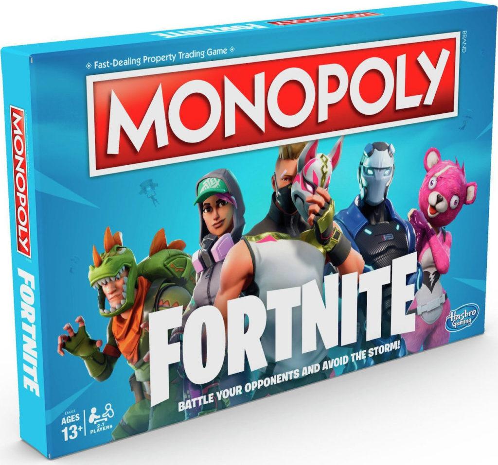 Hasbro's Fortnite Monopoly